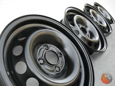 NEU 4x Stahlfelgen Felgen 5,5x13 ET43 4x100 ML 57 VW Polo 6N Lupo 6X Seat Arosa