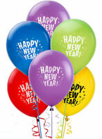 Happy New Year Eve Party Decoration Supplies Bright Colored Latex Balloon ~ 2020