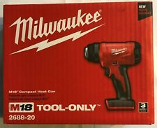 Milwaukee 2688-20 M18 Cordless Compact Heat Gun New in Box