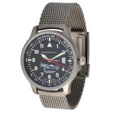 Relojes de pulsera Pilot plata de cuero