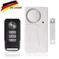 Türalarm Fensteralarm Alarmanlage 110dB Sirene Sensoren mit Fernbedienungen Tür