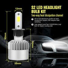 H3 Car LED Globes Headlight Kit 200W 20000LM Beam Bulbs High Power White
