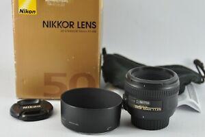 Nikon AF-S 50mm f1.4G Fast prime lens Full-Frame Boxed UK SELLER