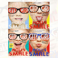 Holly Smale Collection Geek Girl Series 4 Books Set (Geek Girl, Model Misfit)New