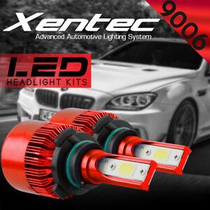 XENTEC LED HID Headlight Conversion kit 9006 6000K for 1998-2004 Chrysler 300M