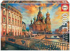 Educa 18501. San Petersburgo. Puzzle de 1500 piezas. 85x60cm