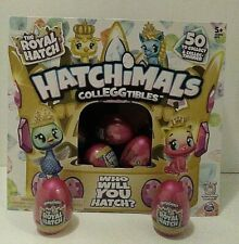 HATCHIMALS COLLEGGTIBLES THE ROYAL HATCH LOT of 22 Eggs with Retail Box
