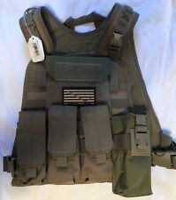 MBSS Khaki Tan Plate Carrier Vest Pouches New Flyye Condor Pack Molle