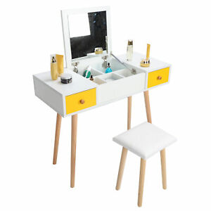 Makeup Table Large Storage Space Dressing Table for Beautiful Makeup