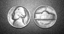 1945-D SILVER WAR NICKEL GRADE: GOOD COIN 35% SILVER Denver Mint