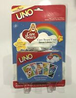 Care Bears Theme UNO Card Game Special Edition Deluxe Collectable Storage Tin P7