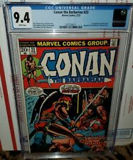 Conan the Barbarian #23 CGC 9.4 white pages 1ST Red Sonja 1973