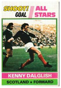 Topps (UK) - 'Footballers (Red Back 221-330)' - Card #236 - Kenny Dalglish - ...