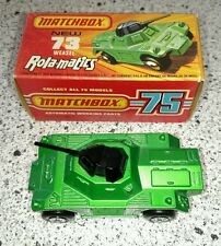 Matchbox 73 weasel rola-matics with box great condition Made in England