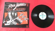 "DISQUE VINYLE 33 T INT/ RICK JAMES ""COLD BLOODED"" 2T ELECTRO FUNK SOUL 1983"