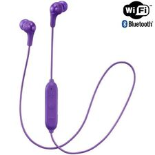 JVC HA-FX9BT VIOLET Wireless Bluetooth In Ear Headphone Mic & Remote /Brand New
