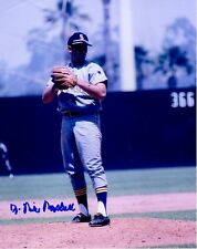 Signed  8x10 DR. MIKE MARSHALL Seattle Pilots Autographed photo - COA