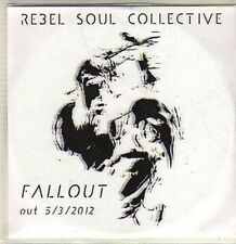 (CP784) Rebel Soul Collective, Fallout - 2012 DJ CD