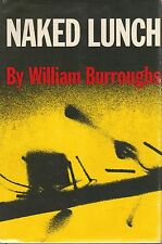 NAKED LUNCH-WILLIAM BURROUGHS-1959-1ST ED-W/$6.00 DJ-A RARE BOOK!