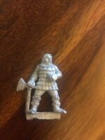 Unreleased Empire Axeman  Rare Warhammer Metal Games Workshop