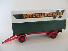 CORGI 'PAT COLLINS FAIR CLOSED POLE TRAILER' 1:50 16502. NEW/PERFECT CLASSICS.