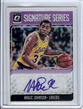 Magic Johnson 2018-19 Donruss Optic Signature Series Auto A Lakers #SG-MJS