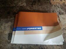 2006 Subaru Forester Owners Manual Guide Book