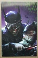 Dark Nights Metal #6 Comic - Mattina BLOODY VIRGIN Variant  Batman Who Laughs
