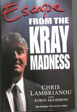 BRAND NEW PB Book - Escape From The Kray Madness , Chris Lambrianou - FREE POST
