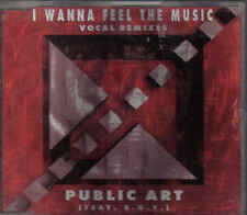 Public Art-I Wanna Feel The Music cd maxi single