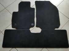 2018 Chevy Equinox BLACK CARPET FLOOR MATS SET OF 3 front and rear OEM NEW