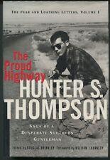 THE PROUD HIGHWAY - Hunter S. Thompson - 1st Printing - HC/DJ - VNF/VNF