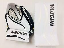 MISMATCH SPECIAL New Vaughn ice hockey goalie blocker catcher glove set Junior