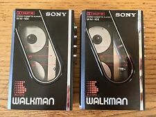 Iconic Vintage Sony Walkman WM-10II - Two for sale - one boxed with headphones