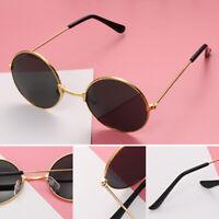 Reflective Color Film Retro Children Sunglasses Eyewear Round Sun Glasses