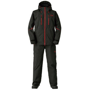 Daiwa DW-9020 Pvc Ocean overalls winter suit Black 2XL From Stylish anglers JP