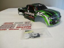 NEW Color From Traxxas 2wd Stampede Green White Black Body Fits 4wd 4x4 XL-5 VXL