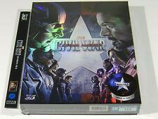 Captain America Civil War (3D+2D) Blu-ray Steelbook Novamedia FSB #105/700