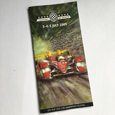2009 Goodwood Festival Of Speed / Revival 14 Page Promotional Leaflet