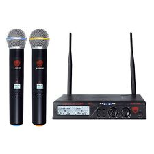 Nady U-2100 HT Dual 200-Channel UHF Wireless Handheld Mic Microphone System