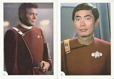 STAR TREK THE WRATH OF KHAN 1982 FTCC COMPLETE 5 X 7 OVER-SIZE CARD SET OF 30