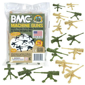 BMC MPC Recast M2 Heavy MACHINE GUNS Multiple Products Army Men Accessories