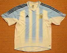 2004 - 2006 Argentina, Home short sleeve football Shirt by Adidas, Mens XL