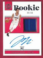JEROME ROBINSON RC 2018-19 ENCASED ROOKIE JERSEY AUTO #88/99 CLIPPERS AUTOGRAPH