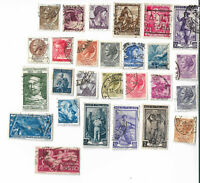 Italy postage stamps x 27 (Batch 3), off paper
