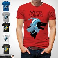 WINTER IS COMING GAME OF THRONES FUNNY CHRISTMAS T-SHIRT GIFT XMAS Red