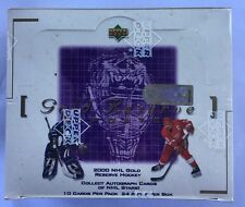1999-00 Upper Deck Gold Reserve Update Series 2 Hockey Factory Sealed Box HTF
