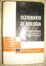 ABERCROMBIE.HICKMAN,JOHNSON - DIZIONARIO DI BIOLOGIA - ED:ALDO MARTELLO (MI)
