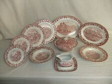 C4 Pottery Myott & Meakin - Country Life - plates & serving dishes 1B4C