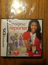Imagine: Reporter Game/Cartridge Nintendo DS Clear Plastic Storage Sleeve/Cover